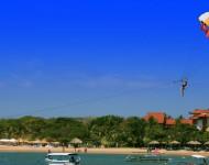 巴厘島駕駛員水上運動,滑翔傘